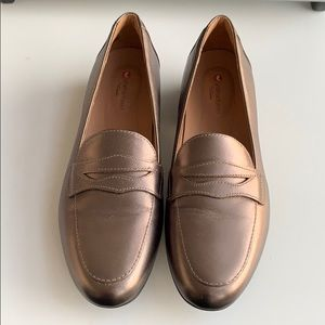 Sophisticated Clark's Penny Loafers